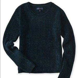 Super Soft Aeropostale Teal Chenille Sweater